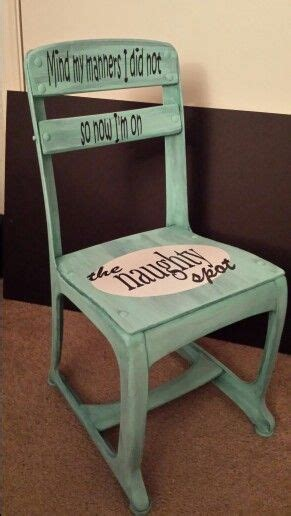 timeout bench timeout chair naughty spot a place for everything