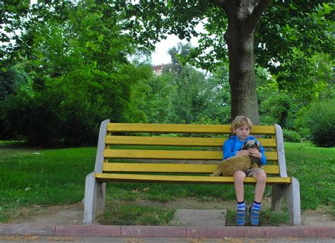 children s park bench kids and grief what to say to a child about death