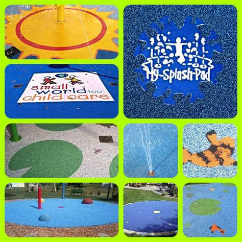 pads layout logo 59 best safety surface for splash pads images on pinterest
