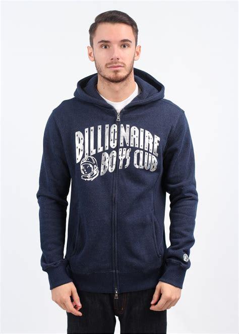 Jaket Zipper Hoodie Sweater Billioners Boys Club billionaire boys club sleeve zip arch hoody navy