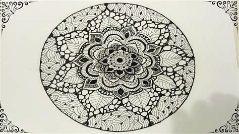 mandala pattern youtube how to draw mandala art https www youtube com watch v