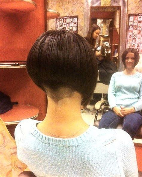 haircut bob undershave 136 best images about inverted bob s on pinterest
