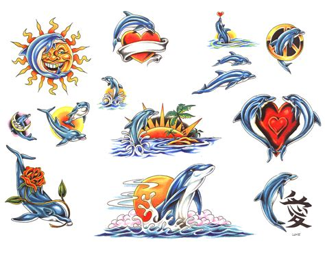 tribal dolphin tattoo designs ideas tattoo collection