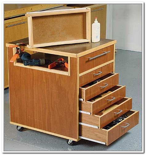 diy rolling tool storage home design ideas
