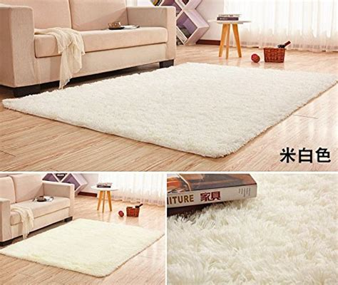 Soft Area Rugs For Living Room - large size 200x400cm silk wool rug for living room