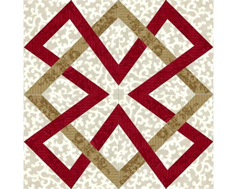 Scottish Quilt Patterns by Celtic Beta Block By Endulzar Quilting Pattern