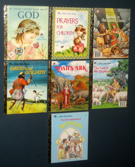 themes in the book sold sold little golden books lot 7 religious themes titles god
