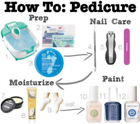 How To Give Yourself A Pedicure by The Blush How To Give Yourself A Spa Pedicure
