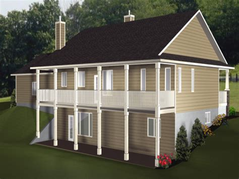 Craftsman House Plans With Walkout Basement House Plans With Walkout Basement Craftsman House Plans With Walkout Basement Bungalows Plans