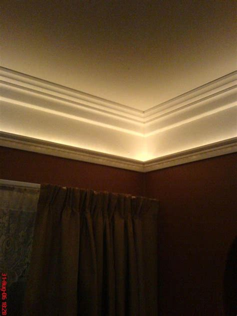 crown molding with lighting effects 22 best crown molding low ceilings images on pinterest