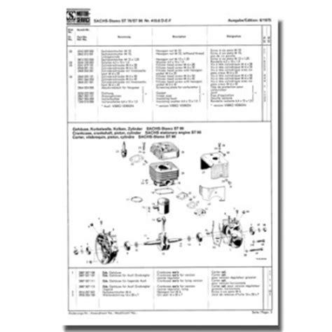 Sachs Motor Stamo 76 schreiber zweiradshop de ersatzteilliste stamo 76 stamo 96
