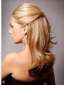 of the hairstyles partial updo partial updos for long hair hair style and color for woman