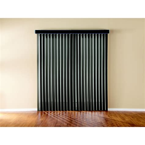 Room Darkening Vertical Blinds Shop Custom Size Now By Levolor 3 5 In Cordless Espresso