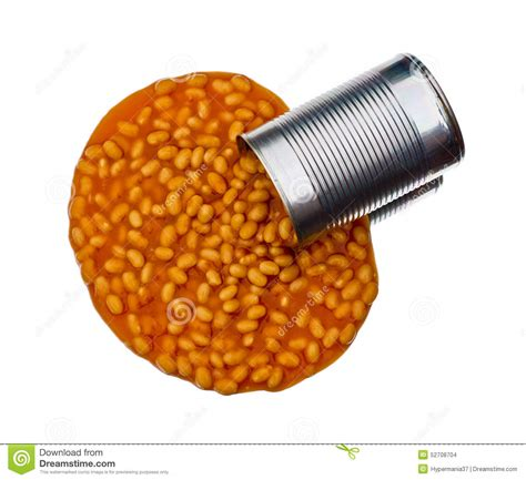 Spills The Beans by Spill The Beans Stock Photo Image Of Meal Aluminium