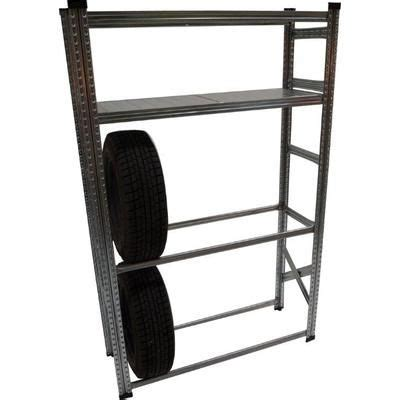 Firewood Rack Canadian Tire by Metalsistem Heavy Duty Tire Rack And Shelving Kit Home
