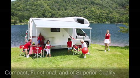 Wind Out Caravan Awnings by Fiamma F45 Awning