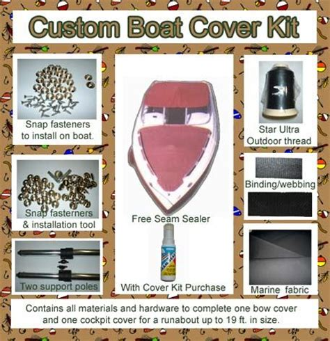 boat cockpit cover kit looking to make your own boat cover get expert advise