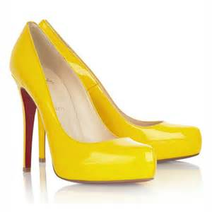 Yellow Shoes Wedding By Designs Yellow Wedding Shoes