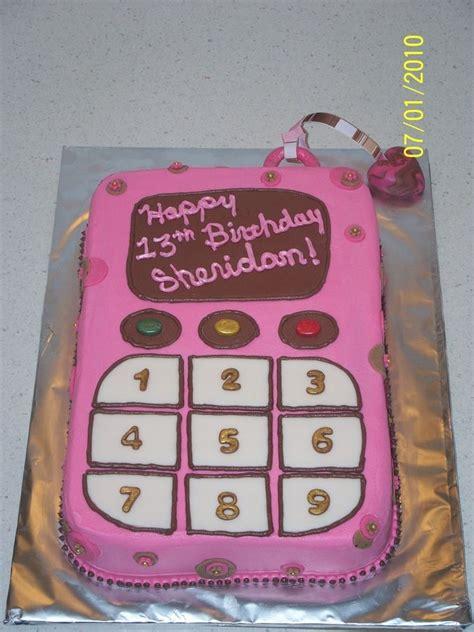 cell phone birthday cakes cell phone birthday cakes  girls    birthday cake
