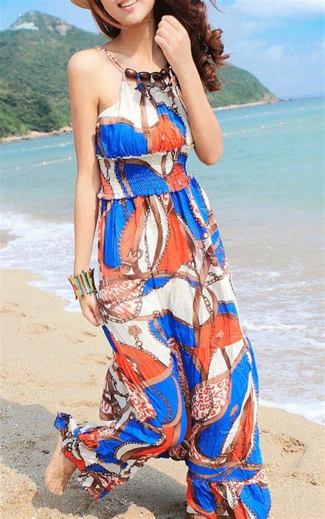 Boho Dress Baju Pantai baju dress untuk pesta di pantai yatch