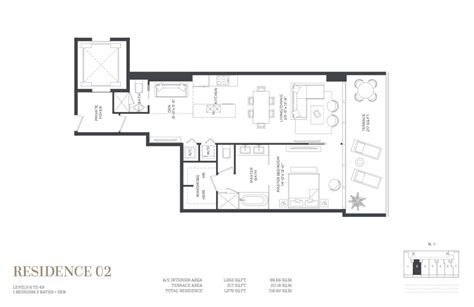 miami condo floor plans gran paraiso condo floor plans