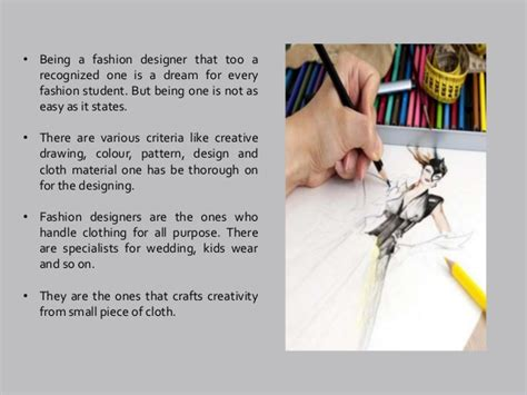become a designer facts to be known to become a fashion designer