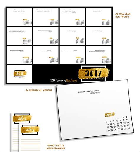 calendar design quote 25 best new year 2017 wall desk calendar designs for