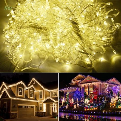 220v eu 100m 600 led garland led christmas lights
