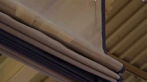 670 Fold Up Divider Curtain Youtube