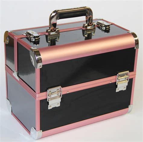 Make Up Box new arrival large make up organizer storage box cosmetic organizer suitcase makeup box