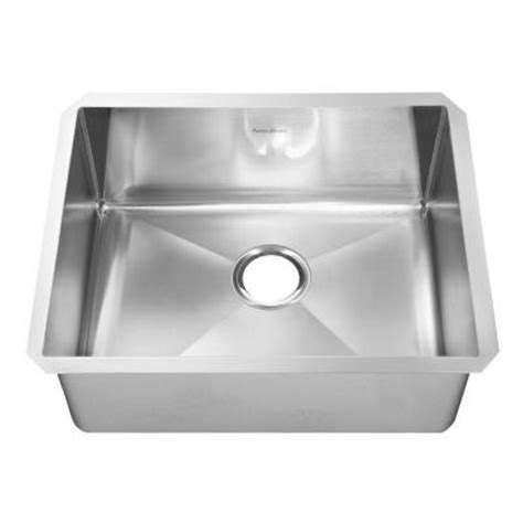 Discontinued Kitchen Sinks American Standard Prevoir Undermount Brushed Stainless Steel 29x18x10 In 0 Single Bowl