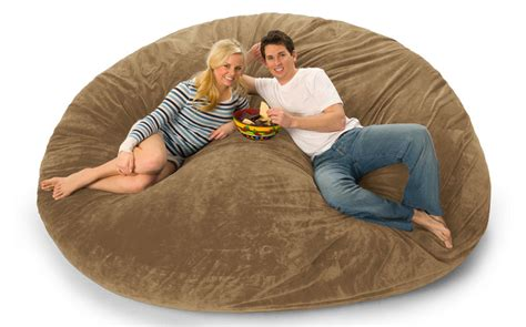 lovesac the big one 8 foot lovesac big one foam bag