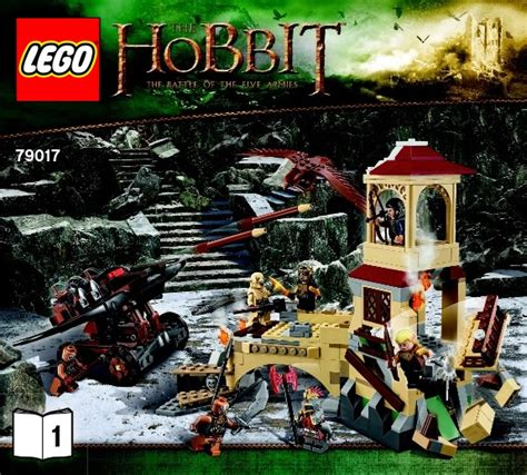 Toys Lego The Hobbit The Battle Of The Five Armies 79020 lego the hobbit childrens toys