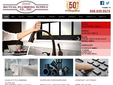 L H Plumbing Supply by Plumbing Supply Co Fixtures Honolulu Hi