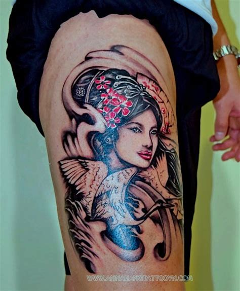 tattoo geisha n a lung samurai other gallery anna hang tattoo