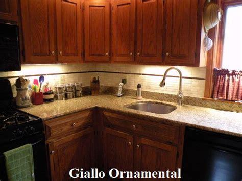 giallo ornamental backsplash pictures for qualey granite quartz in bangor me 04401
