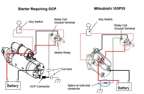 mitsubishi start wiring diagram wiring diagrams schematics