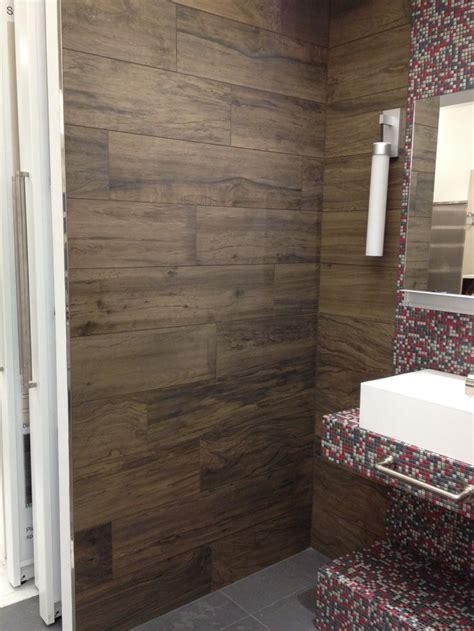 porcelain wood tile bathroom porcelain wood tile floors pinterest