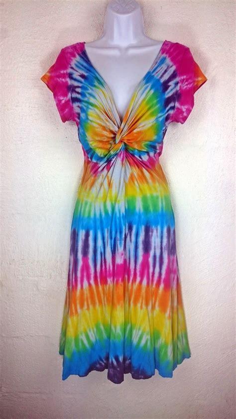tie dye dress s dress s summer dress