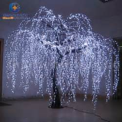 real outdoor trees china lighted willow tree real look trunk led indoor out