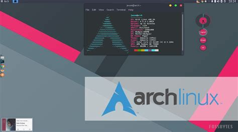 Arch Linux L by Cookiesokol