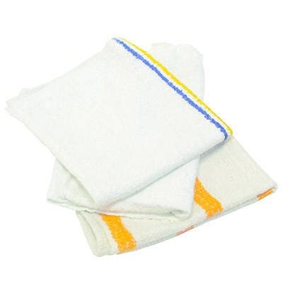 Kuraflex Counter Cloth Large counter cloth bar mop value choice white 25 pounds bag