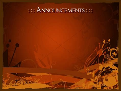 Church Announcements Announcement Backgrounds Sharefaith Church Announcements Template Powerpoint