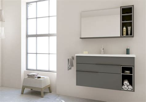 Vanity Ensemble by 40 Quot Nook Bathroom Vanity Ensemble Mirror Grey