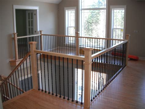 metal banister staircase galleries scotia stairs ltd