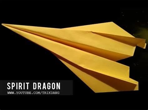 How To Make A Paper Stunt Plane - how to make the best stunt paper airplane spirit