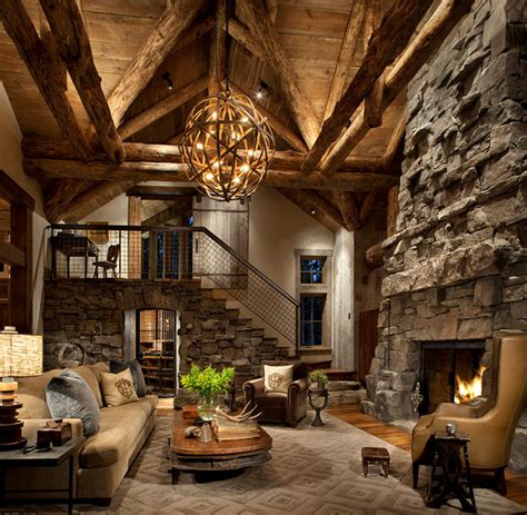 vaulted great room vaulted great room rustic family room denver by
