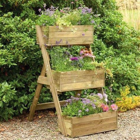 raised container garden garden and patio diy vertical raised container planter