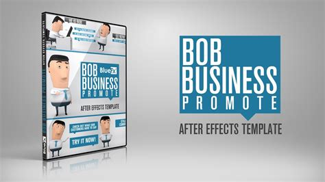 bob business promoter after effects templates youtube