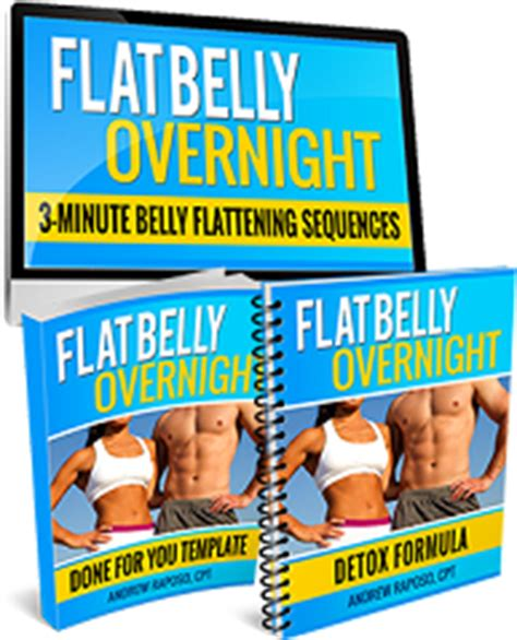 Flat Belly Overnight Detox Formula Recipe by Flat Belly Overnight By Andrew Raposo Detailed Review